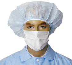 Cleanroom Apparel Insta Guard 174 Tie Face Masks