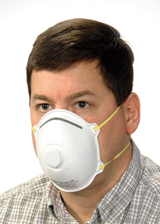 Particulate Respirator with Exhilation Valve